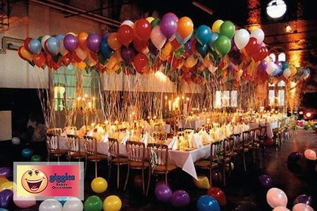 Balloons Decor For Wedding In Canberra
