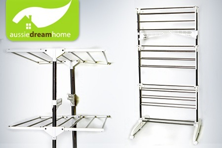$69 Portable, Three Tier Stainless Steel Drying Rack, Includes Nationwide  Delivery ($115 Value)