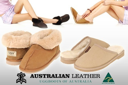 4b43ac29b9a3e6 Genuine  Ugg Boots of Australia  Footwear in a Choice of Sizes and Colours  – One Pair of Ugg Scuffs ( 45) or Slippers ( 75)