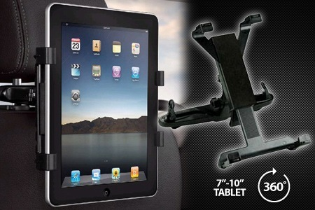 set up your own in car entertainment system with an ipad or tablet headrest mount designed to fit all cars one 19 two 34 or three 50 5