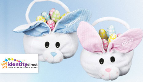 50off identity direct deals reviews couponsdiscounts 19 for a personalised easter basket delivered to your door from identity direct keep those chocolate eggs safe and delight the kids this easter negle Image collections