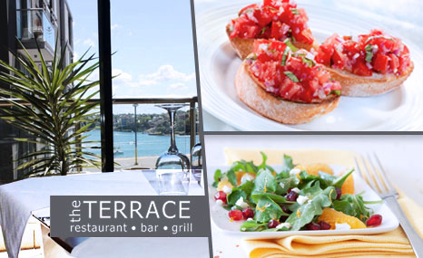 50 off the terrace restaurant grill and bar sydney deals for The terrace restaurant bar and grill