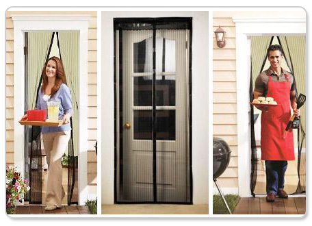 Say Goodbye To Bites And Keep The Flies Out This Summer With TWO X Magnetic Fly  Screen Doors For Only $29 Instead Of $110   A National Best Seller Plus Get  ...