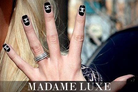 50off madame luxe deals reviews couponsdiscounts expert creative nail art choose glam designs based on the likes of chanel louis vuitton and more designed to last 4 weeks without chipping high gloss prinsesfo Image collections