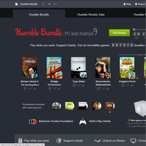 50%OFF Humble Bundle: PC and Android 9 Deals and Coupons