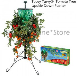 50%OFF Topsy Turvy Tomato Herb Vegetable Tree Upside down Planter  Deals and Coupons