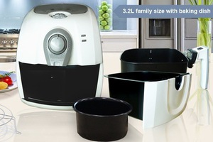 70 off kitchen chef 3 2l family sized 1400w air fryer. Black Bedroom Furniture Sets. Home Design Ideas