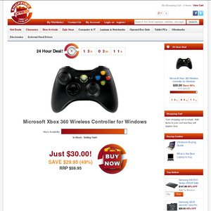 50 off xbox 360 controller for windows deals and coupons